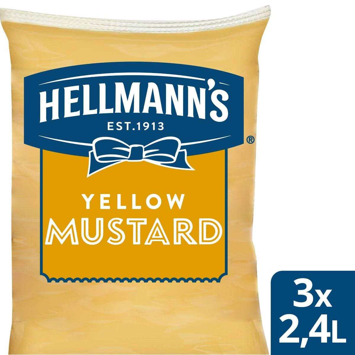 Hellmann's Горчица пауч 2.4 l - Hellmann's дресинг паучове за лесно и ефикасно дозиране
