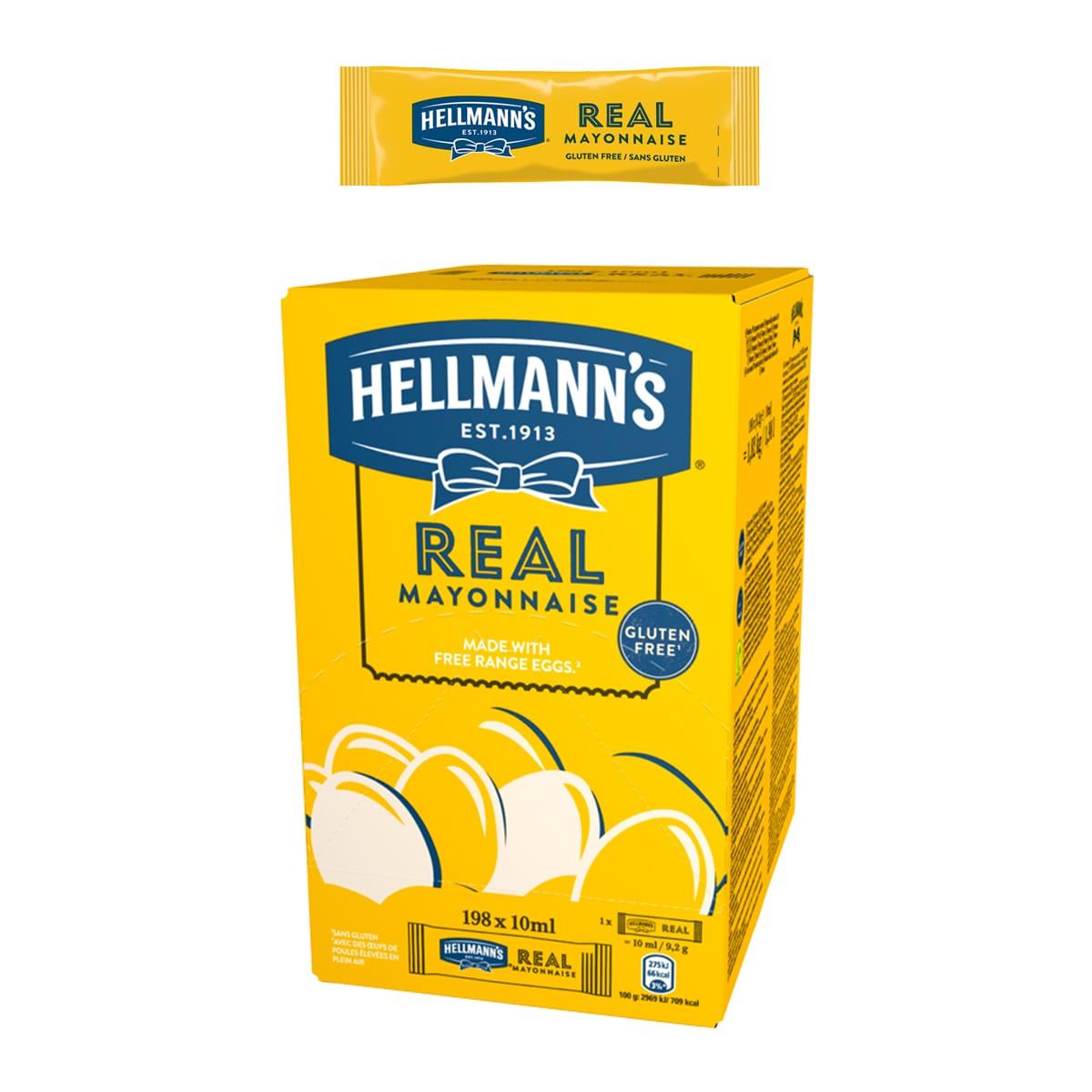 Hellmann's Майонеза Real доза 10 ml