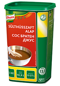 Knorr Братен Джус сос - Перфектния завършек на вашите ястия!
