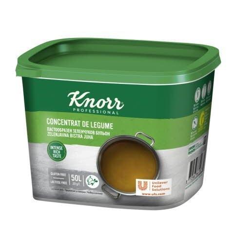 Knorr Зеленчуков пастообразен бульон -