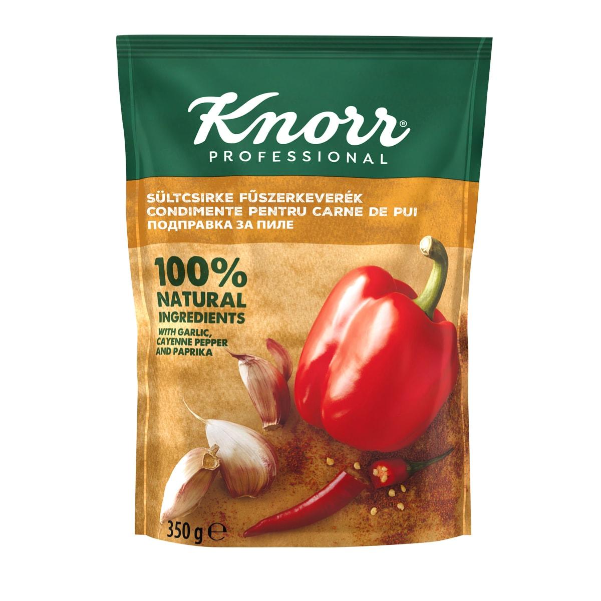 """KNORR Подправка за пиле - """"В ежедневието си използвам разнообразие от билки и подправки, затова е важно те да имат автентичен вкус"""""""
