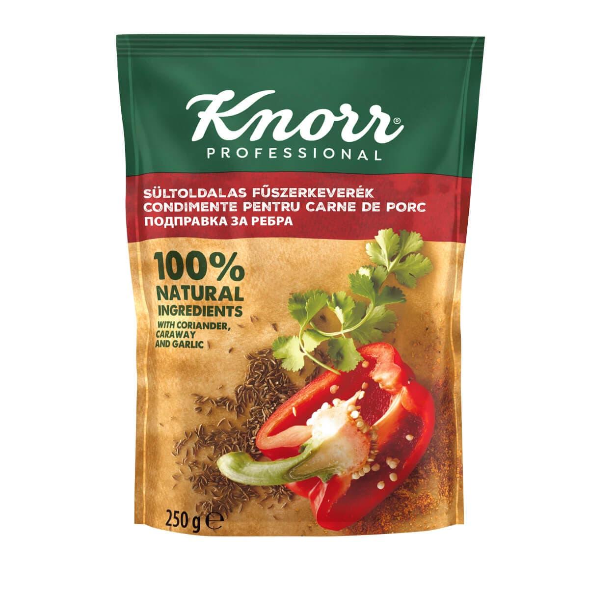 """KNORR Подправка за ребра - """"В ежедневието си използвам разнообразие от билки и подправки, затова е важно те да имат автентичен вкус"""""""