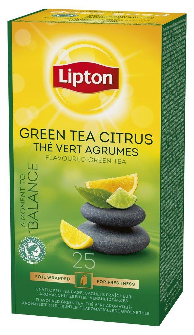 Lipton Зелен чай цитрус -