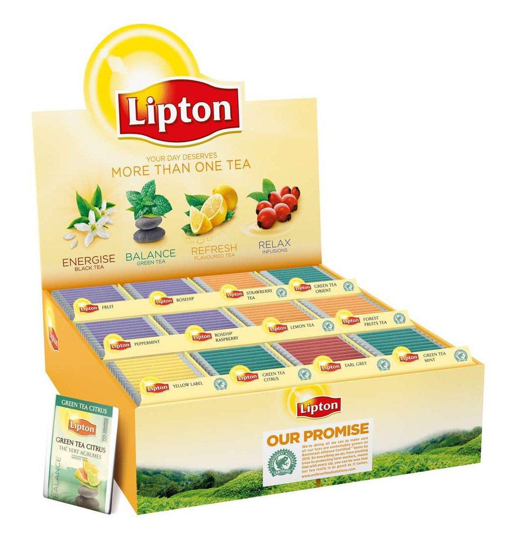 Lipton Микс кутия 12 вида -