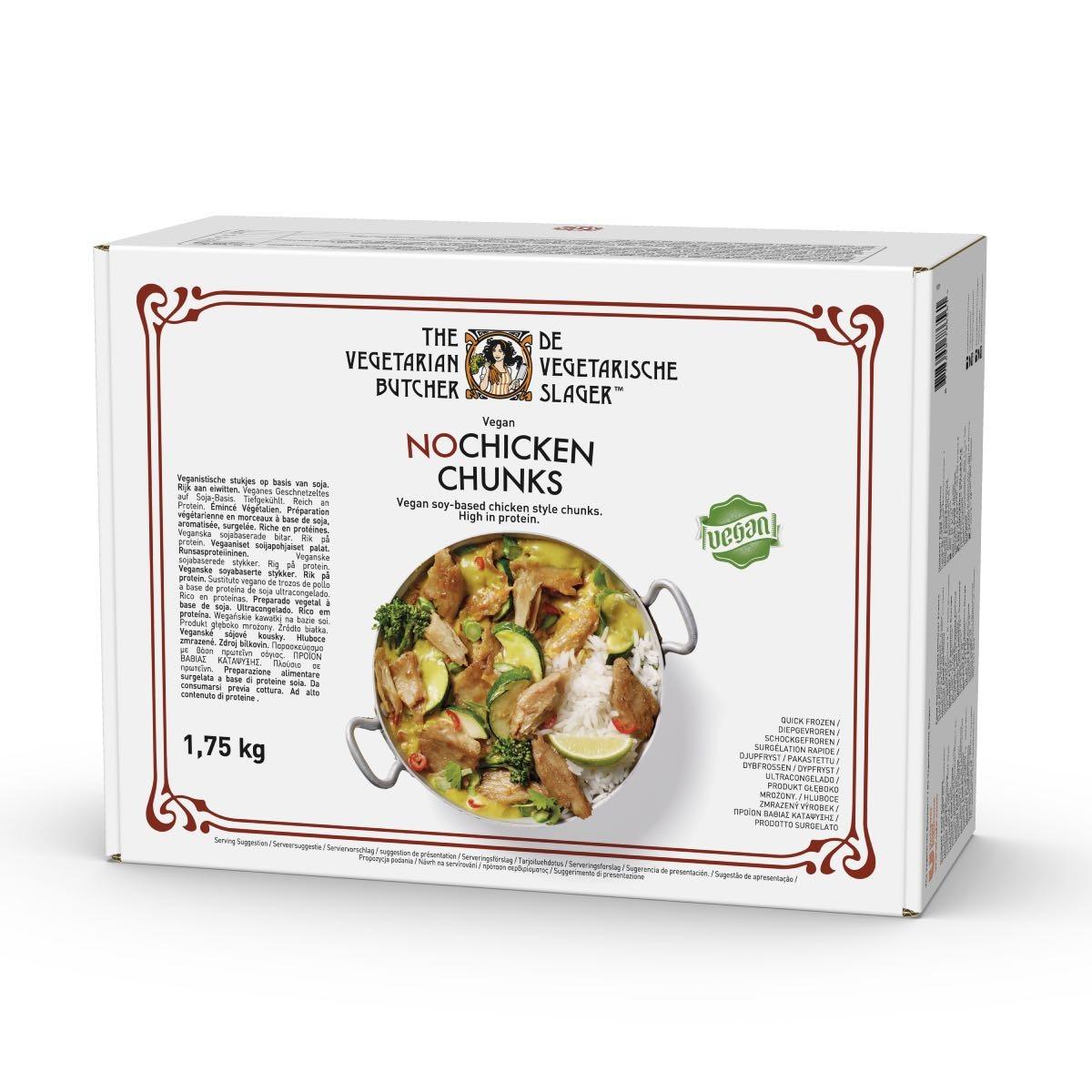 """The Vegetarian Butcher No Chicken Chunks - """"С протеин на растителна основа, с вкус и текстура на истинско месо"""""""